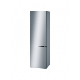 Bosch Freestanding Fridge Freezer 60cm Wide, Stainless Steel