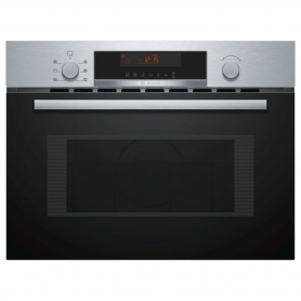 Bosch 900W Built-In Combination Microwave Oven And Grill, 44L Capacity - Stainless Steel