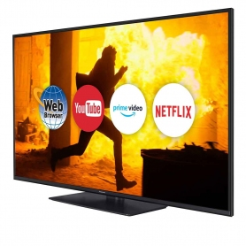 "Panasonic 55"" Smart 4K LED TV - Black"