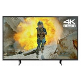"Panasonic LED HDR 4K Ultra HD Smart TV, 43"" with Freeview Play, Black"
