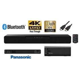 Panasonic Bluetooth All-In-One Compact Sound Bar with High Resolution Audio - 1