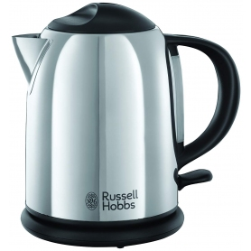 Russell Hobbs Chester Compact Kettle - Stainless Steel