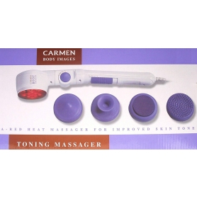 Carmen Ifra-Red Toning Massager - White