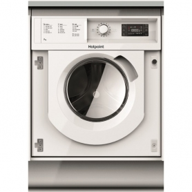 Hotpoint 7kg 1400 Spin Integrated Washing Machine - White