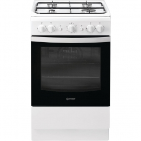 Indesit 50cm Gas Cooker - White
