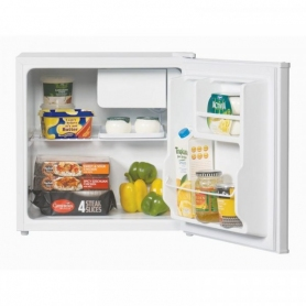 Lec Mini Fridge with Ice Box - White