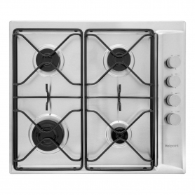 Hotpoint Gas Hob - Stainless Steel