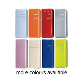 Smeg 60cm Auto Defrost FAB30 Retro Fridge Freezer Range - Various Colours