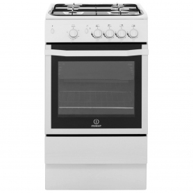 Indesit I5GGW Freestanding Gas Cooker, White