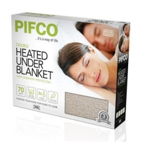 Pifco Double Heated Under Blanket - White