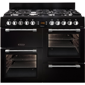 Leisure Cookmaster 100cm Dual Fuel Range Cooker - Black