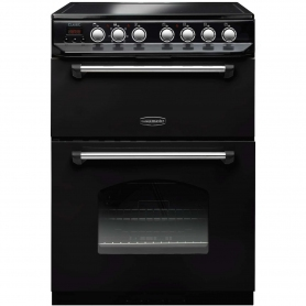 Rangemaster 60cm Classic Double Oven Electric Cooker - Black