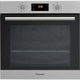 Hotpoint Built In Single Oven - Stainless Steel