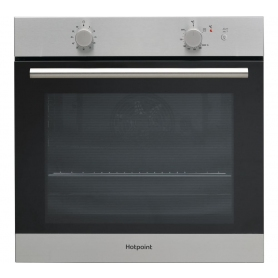 HOTPOINT Gas Single Oven - Stainless Steel