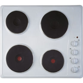 Indesit Electric Solid Plate Hob - White