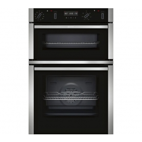 Neff Pyrolitic Self-Cleaning Built In Double Oven - Stainless Steel