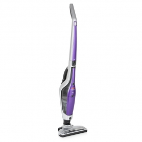 Vax Dynamo Power Cordless 21V Upright Vacuum Cleaner, Silver/Purple